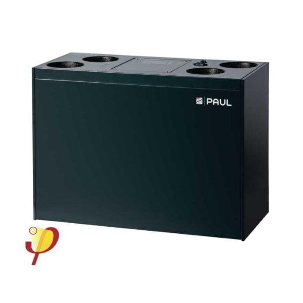 Unitate ventilatie cu recuperare caldura comfort Focus 200 Entalpic
