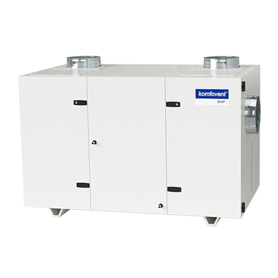 Unitate ventilatie cu recuperare caldura komfovent RHP 1300 U
