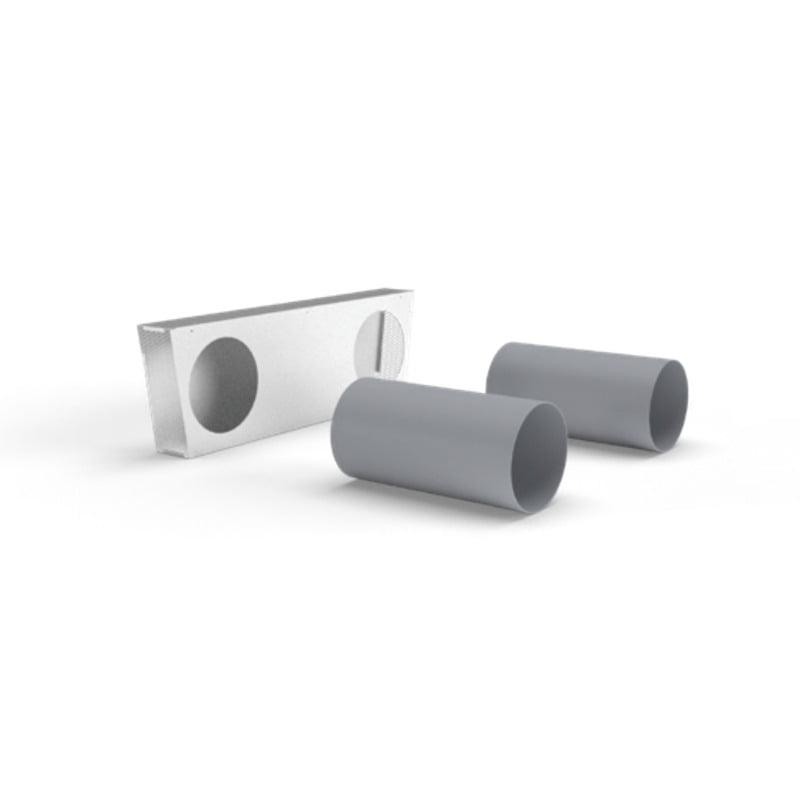 kit grila externa si tuburi cu diametru de 250 mm