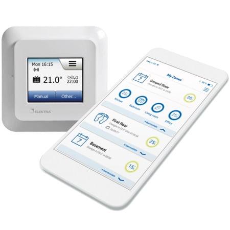 Termostat incalzire pardoseala electrica OCD5 wifi