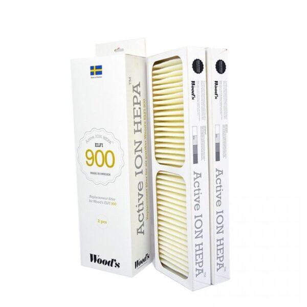 Filtru Active ion Hepa Wood's Elfi 900