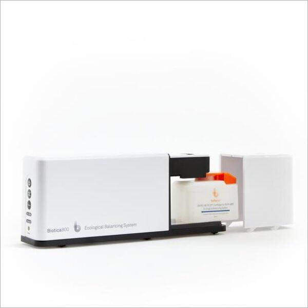 purificator aer cu probiotice Biotica 800 curezervor vizibil ecocald