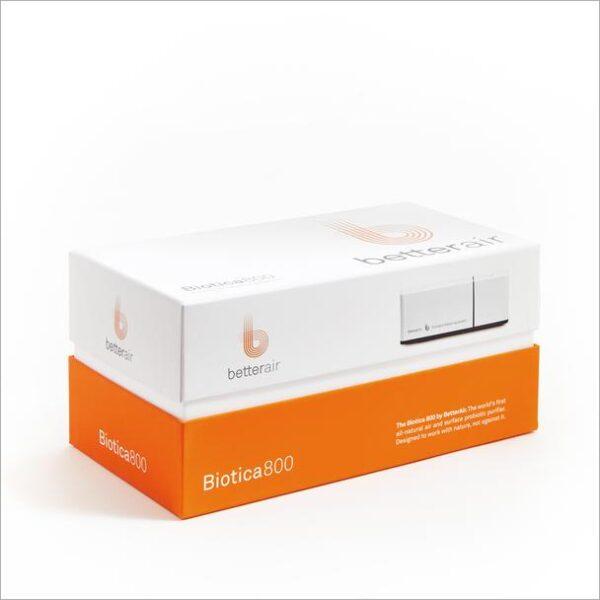 purificator aer cu probiotice Biotica 800 in ambalaj ecocald